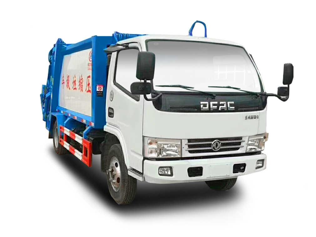 多利卡压缩式垃圾车(5立方)