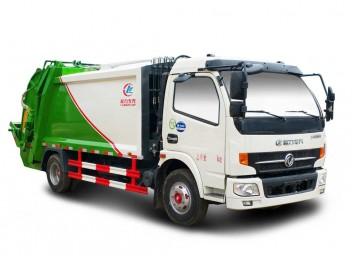 多利卡压缩式垃圾车(8立方)