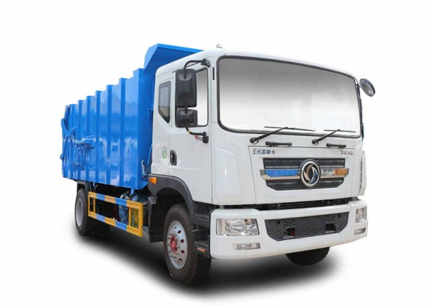 东风D9对接式垃圾车(14立方)